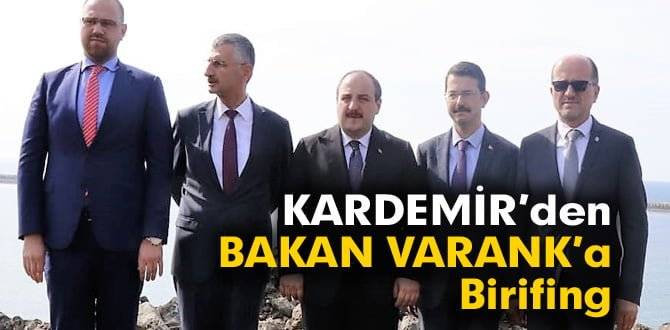 KARDEMİR'den, Sanayi ve Teknoloji Bakanı Mustafa Varank'a Brifing