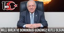 Kamil Güleç'ten 15 Temmuz mesajı