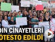 KADIN CİNAYETLERİ SAFRANBOLU'DA PROTESTO EDİLDİ