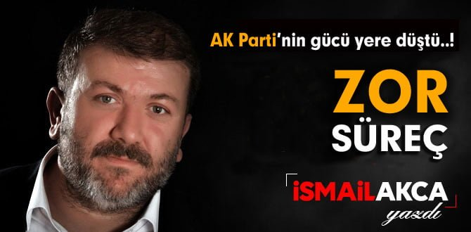 AK PARTİ'NİN GÜCÜ YERE DÜŞTÜ..!