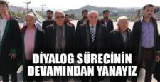 """Baro Başkanı Erdoğan: """"Diyalog sürecinin devamından yanayız"""""""