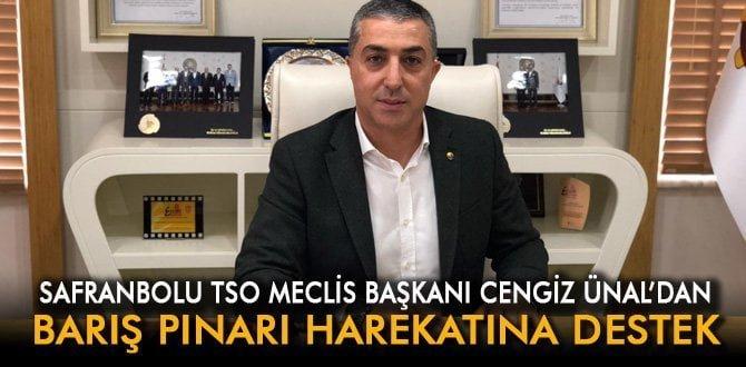 TSO Meclis Başkanı Ünal'dan Barış Pınarı Harekatı'na destek