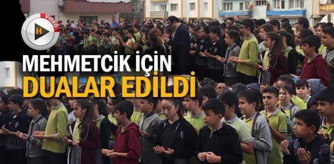 Mehmetçikler için okullardan dualar yükseldi