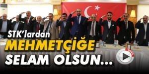 STK'lardan Mehmetçiğe asker selamlı destek