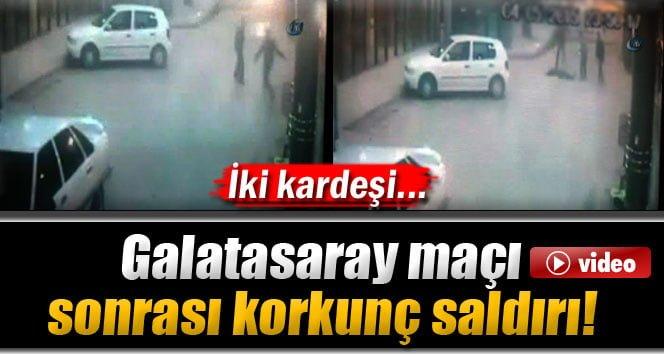 Galatasaray Tezahüratı Yapan 2 Kardeş Bıçaklandı