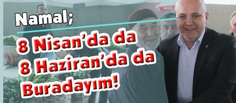"""Sedat Namal: """"8 Nisan'da Da, 8 Haziran'da Da Karabük'te Olacağım"""""""