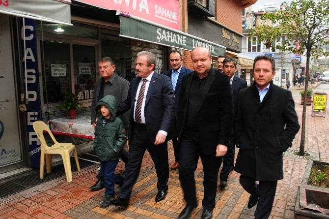 AK Parti Genel Başkan Yardımcısı Mustafa Şentop'un Basın Açıklaması