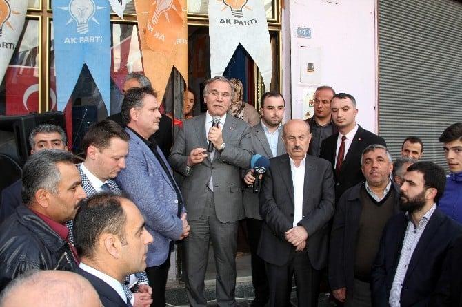 """AK Parti Genel Başkan Yardımcısı Şahin: """"Başkanlık Sisteminin Kararını Millet Verecek"""""""