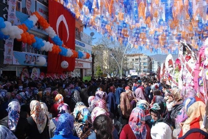 AK Parti Tokat Seçim Koordinasyon Merkezi Törenle Açıldı