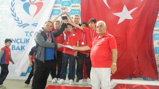 Alaçam Karşıyaka İmam Hatip Ortaokulu Türkiye İkincisi