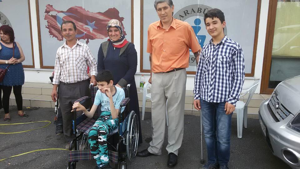 İlk 6 Ayda 15 Tekerlekli Sandalye Dağıtımı Yapıldı