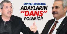 """VERGİLİ ve UYSAL ARASINDA SOSYAL MEDYADA """"DANS"""" POLEMİĞİ!"""