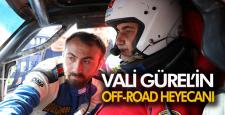 VALİ GÜREL'İN OFF-ROAD HEYACANI
