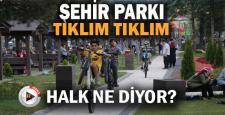Karabük'ün yeni gözdesi Şehir Parkı'nda vatandaşlar yer bulmakta zorlanıyor
