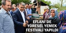 Eflani'de yöresel yemek festivali düzenlendi