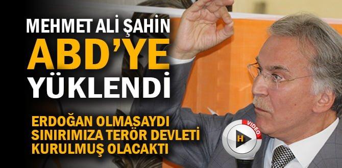 """ŞAHİN; """"RECEP TAYYİP ERDOĞAN'SIZ BİR TÜRKİYE İSTİYORLAR AMA BAŞARAMAYACAKLAR"""""""