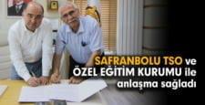 Safranbolu TSO, özel eğitim kurumu ile eğitim işbirliği yaptı