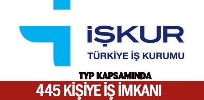 TYP kapsamında 445 kişiye iş imkanı