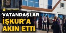 TYP'den faydalanmak isteyen vatandaşlar İŞKUR'a akın etti