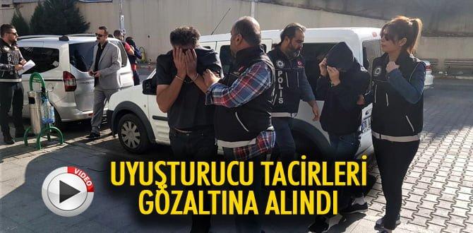 İstanbul'dan uyuşturucu getiren 3 kişi gözaltına alındı