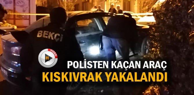 POLİS MEMURUNA VURUP KAÇAN ŞAHIS YAKALANDI