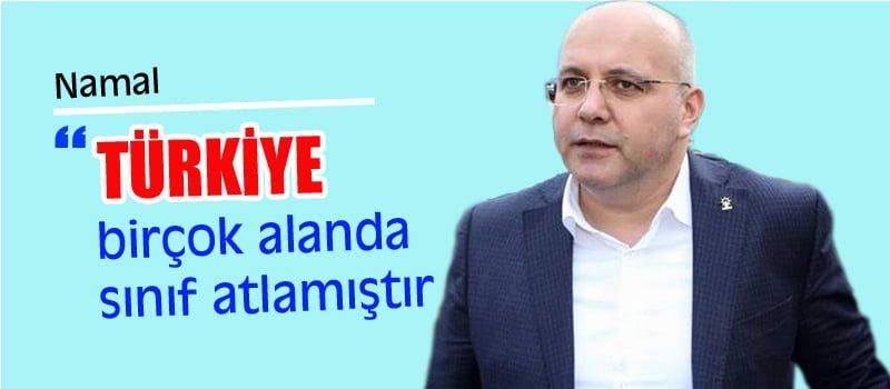 AK Parti Aday Adayı Sedat Namal, Başkanlık Sistemine Vurgu Yaptı